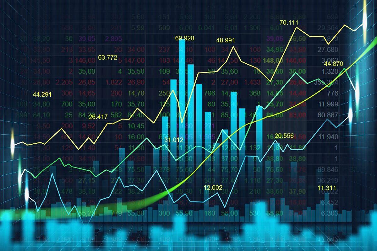 Stock,Market,Or,Forex,Trading,Graph,In,Graphic,Concept,Suitable